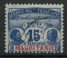 Mauritanie (1906) Taxe N 11 (o) - Oblitérés