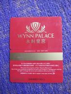 Macao Wynn Palace With A Little Scratch - Casinokarten
