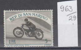 29K963 / SPORT MOTOR BIKE  Motorcycle Motorbikes Moto Motorrader , San Marino ** MNH - Motorbikes