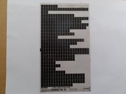 Microfiche  Renault  15/17  1979>1980  -1300-1318-1326-1328 - Visionneuses Stéréoscopiques