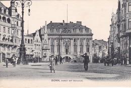 BONN / MARKT MIT RATHAUS - Bonn