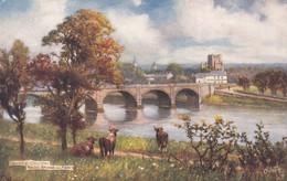 KELSO , Scotland , 00-10s ; Bridge & Abbey ; TUCK 7015 - Roxburghshire