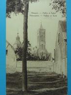 Nieuport Halles Et Eglise Hallen En Kerk - Nieuwpoort