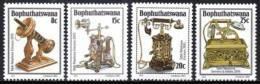 Bophuthatswana - 1982 History Of The Telephone Set (**) # SG 92-95 , Mi 92-95 - Bophuthatswana