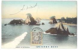 Cpa Chine / China - Scenery Of Matsushima ( Postée De Tientsin ) - Japon