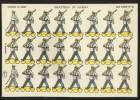 Infanterie Marine Soldats Pour Jouer à Découper 1958 Soldados Recortables España Toy Soldiers Cut-Out Army Navy - Découpis