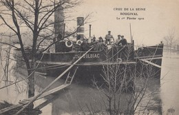 Crue De La Seine  Bougival Le 1 Er Février 1910 - Bougival