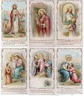 6 Images Religieuses  ..... (110946) - Devotion Images