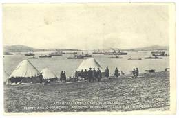 Cpa Grèce - Flotte Anglo-Française à Moudros ... - Grèce