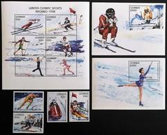 # Uganda 1997**Mi.1901-12  Winter Olympics , Nagano , MNH [20;103] - Winter 1998: Nagano