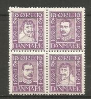 Yv. DK  N°  BLOC Des 157 à 160  **/,*   15o  Tricentenaire De La Poste   Cote  100 Euro TBE  2 Scans - 1913-47 (Christian X)