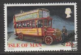 Isle Of Man 1999 Buses 22 P Multicoloured SW 810 O Used - Isle Of Man