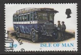 Isle Of Man 1999 Buses 26 P Multicoloured SW 811 O Used - Isle Of Man