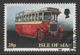 Isle Of Man 1999 Buses 28 P Multicoloured SW 812 O Used - Isle Of Man