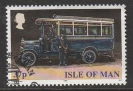 Isle Of Man 1999 Buses 37 P Multicoloured SW 813 O Used - Isle Of Man