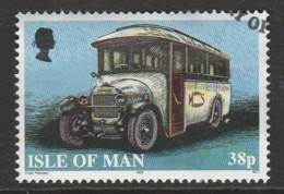 Isle Of Man 1999 Buses 38 P Multicoloured SW 814 O Used - Isle Of Man