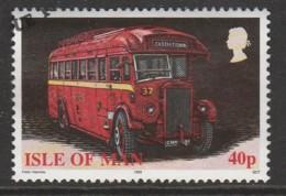 Isle Of Man 1999 Buses 40 P Multicoloured SW 815 O Used - Isle Of Man