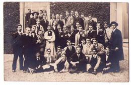 3823 - Carte Photographue Sans Titre - Photo D'un Groupe D'Etudiants ( Université , Grand-Ecole ? ) - Schools