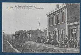 PORT SUR SAONE - La Gare - Arrivée Du Train De Vesoul - Francia
