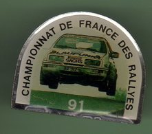 RALLYE *** CHAMPIONNAT DE FRANCE 92 *** 0100 - Automobile - F1