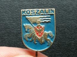 Z 671 -KOSZALIN, POLAND, EMBLEME, BLASON - Ciudades
