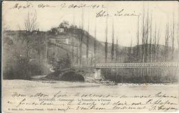 Puy De Dome : Chateauneuf, La Passerelle Et Le Chateau... - Other Municipalities