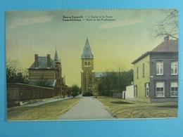 Bourg Léopold L'Eglise Et La Poste - Leopoldsburg