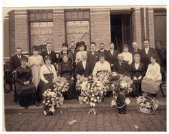 Hoboken Familie Nuyts   Oude Foto 22,5x17cm - Antwerpen