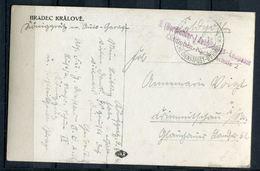 """CPSM AK DR Böhmen U.Mähren Hradec Kralove/Königgrätz 1940 Mit Militär.Vermerk""""3.Bordfunker-Ausbildungs..""""1x Feldpost - Besetzungen 1938-45"""