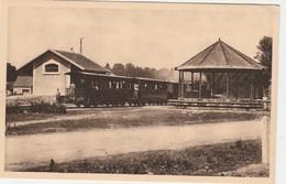 BREUCHES   -   HAUTE SAONE  70 -  CPA   SEPIA   LA GARE  LE  TRAIN - Sonstige Gemeinden