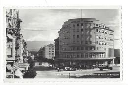 21322 - Fribourg Boulevard De Pérolles Et Hôtel De Fribourg Attelage Et Camion - FR Fribourg