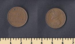 Panama 1 1/4 Centesimos 1940 - Panama