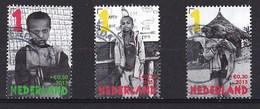 Nederland - Kinderzegels, Laat Kinderen Leren - Gebruikt/used - NVPH 3107a/3107e/3107f - Periode 2013-... (Willem-Alexander)