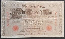 EBN1 - Germany 1910 Banknote 100 Mark Pick 45b - [ 2] 1871-1918 : Duitse Rijk