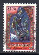 Zimbabwe 1994 Christmas $1.75 Value, Used, SG 885 (BA) - Zimbabwe (1980-...)