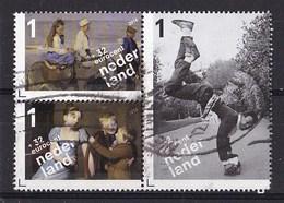 Nederland - Kinderzegels, Kinderen Van Het Rijksmuseum - Gebruikt/used - NVPH 3235c/3235d/3235e Blok - Periode 2013-... (Willem-Alexander)