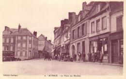 76 - Seine Maritime - Aumale - La Place Des Marchés - Automobile - C 3314 - Aumale