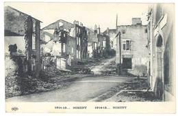 Cpa Guerre 14/18 - Nomeny ( Ruines , Eld ) - Nomeny