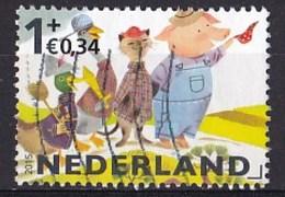 Nederland - Kinderzegels - Eend, Gans, Kat, Varken - Gebruikt/used - NVPH 3362f - Periode 2013-... (Willem-Alexander)