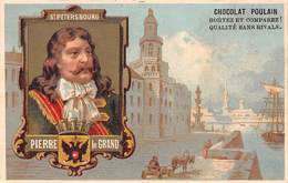 FRP-19-418 :  CHOCOLAT POULAIN. PIERRE LE GRAND SAINT-PETERSBOURG.  RUSSIE. - Poulain