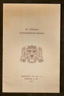 Brochure Consacrée Au CHATEAU  D'ECAUSSINNES - LALAING - Cultuur