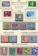 10672 SUISSE  Collection Vendue Par Page  °/**/*  Pro Patria Et Pro Juventute   1959  TB/TTB - Suisse