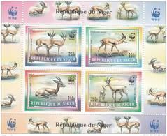 Niger Hb Sobrecargada WWF En Las Esquinas - Níger (1960-...)