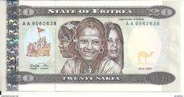 ERYTHREE 20 NAFKA 1997 UNC P 4 - Erythrée