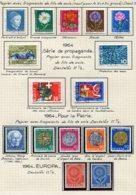 10679 SUISSE  Collection Vendue Par Page  °/ * Pro Juventute Et Pro Patria   1963-64  TB/TTB - Suisse