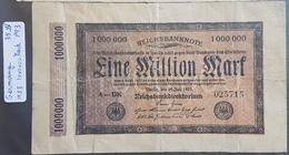 EBN1 - Germany 1923 Banknote 1000000 Mark Pick 93 - [ 3] 1918-1933: Weimarrepubliek