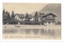 21327 - Bönigen Am Brienzersee Hôtel Bahnhof Pension Seiler - BE Berne