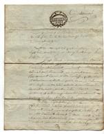 Acte Notarial Notaire 1791 Cachet D. De L'Orne Expédition 8 Sols Briouze Béruier 4 Pages - Cachets Généralité