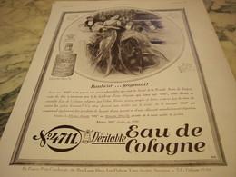 ANCIENNE PUBLICITE EAU DE COLOGNE 4711 BONHEUR GAGNANT 1931 - Parfums & Beauté