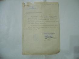 WW2 DOCUMENTO STAZIONE COMANDO SOMMERGIBILI 1942 RICHIAMO ALLE ARMI ALBANO LUIGI - 1939-45